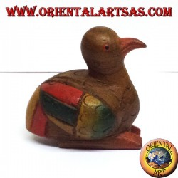 Duck the colored teak wood