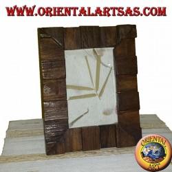 frame the old teak wood