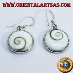 orecchini d'argento, occhio di santa Lucia