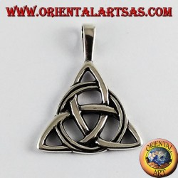 Ciondolo in argento nodo celtico di tyrone