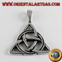 silver pendant Celtic knot of tyrone