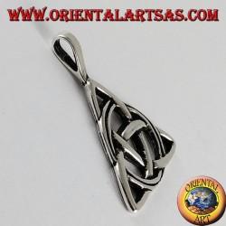 pendentif en argent noeud celtique de tyrone