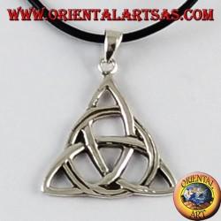 Ciondolo d'argento nodo celtico di tyrone medio