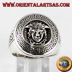 Silver ring, Medusa silver ring