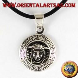 Silver Pendant, Medusa