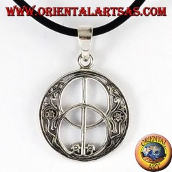 Pendentif argent, le Chalice Well