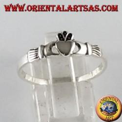 Silver ring Claddagh Irish