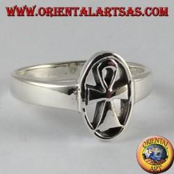 Anello d'argento,  Ankh chiave della vita