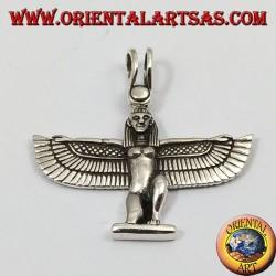 déesse argent ailé pendentif Isis