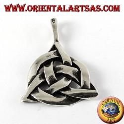 Silber Anhänger, keltische Knoten ewige Tyrone