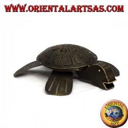 Schildkröte wiederverschließbaren Eisen Aschenbecher