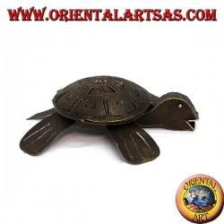 cendrier de fer tortue refermable