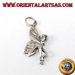 Silver Pendant, Fairy Little Fairy
