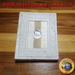 Rice paper photo album (Small) with elephant