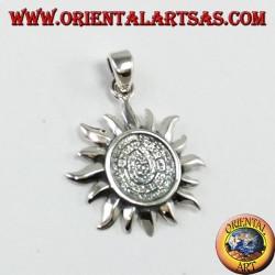 Ciondolo in argento, sole con il disco di Festo