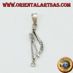 Silber Anhänger, Indischer Bogen