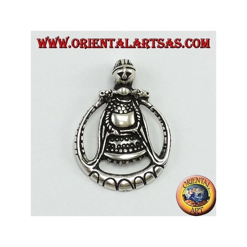 Silver pendant Freya goddess of love (Odin's wife)