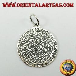 Silver pendant, Festo disc