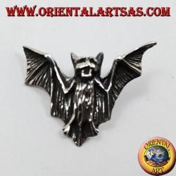Ciondolo in argento pipistrello (piccolo)
