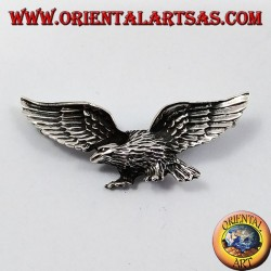 Silver Pendant, Roman Eagle (3 hooks)