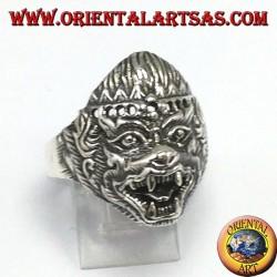 Anello in argento, Hanuman