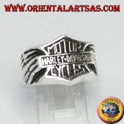Anillo de plata Motors Harley davidson cycles