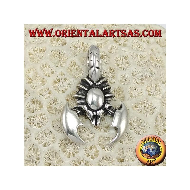 Ciondolo in argento scorpione