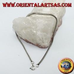 Silberarmband, Seilbindung