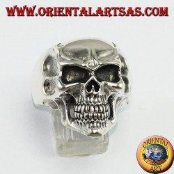 Anello in argento 925 Teschio joker