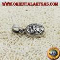 Ciondolo d' argento scarabeo