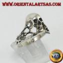 Anello in argento Teschio dell'oltretomba