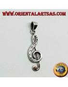 Ciondoli in argento rappresentanti simboli Musicali e sportivi