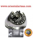 925 ‰ silver rings with Animals