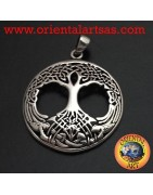 Ciondoli in argento 925 ‰ simboli e nodi celtici